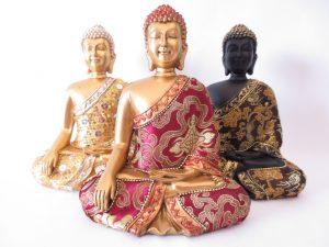 Thaise Boeddha mediterend II