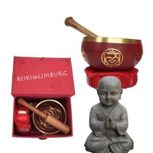1. Klankschaal Chakra 1e rood, stuit (Muladhara)