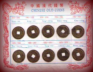 Chinese-geluksmunten