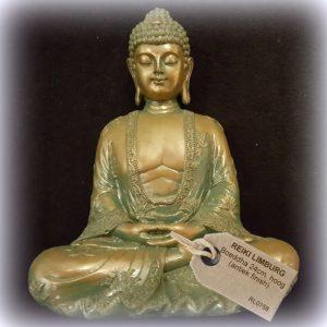 Japanse Boeddha mediterend-antiek-finish-24-cm