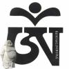 Sticker Tibetaans OMH-teken zwart-wit