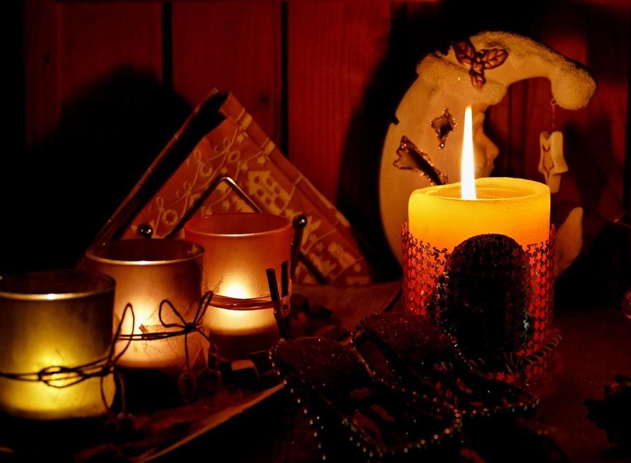 sfeerlichten en kaarsen