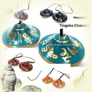 Tingsha Chakra's set van 7