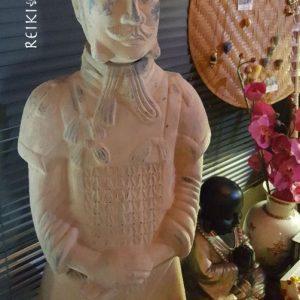 Terracotta krijger 110 cm.