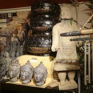 Terracotta krijger 60 cm. hoog