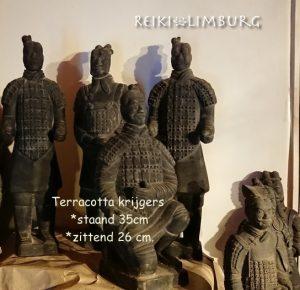 Terracotta krijgers 26-35 cm.
