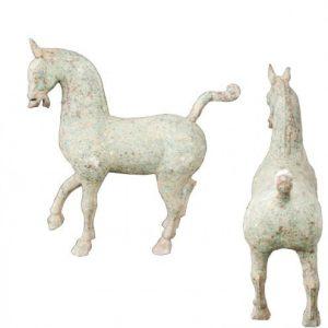 Bronzen paard L-B-H 48-13-43