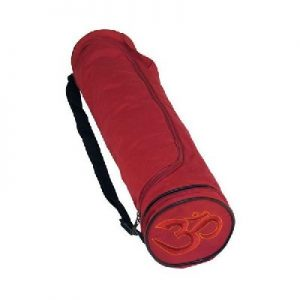 1. Yogamat tas bordeaux rood