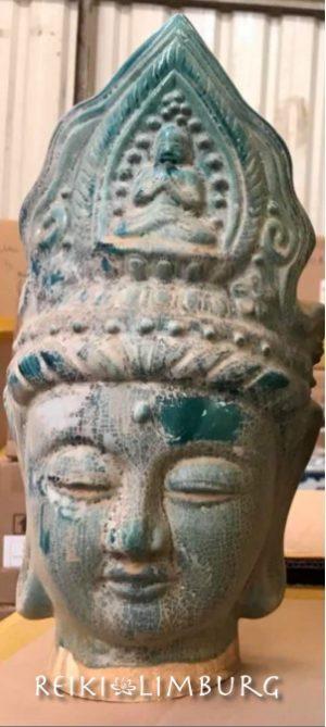 Boeddha Terracotta groen