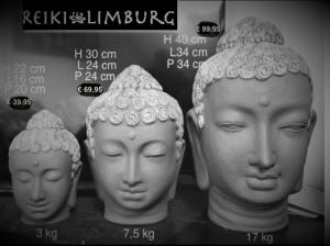 Boeddha hoofd beton