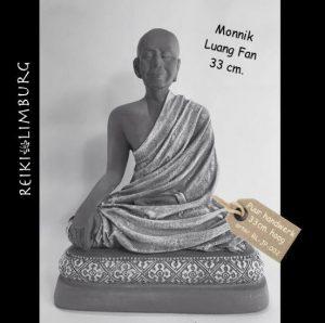 Monnik groot Luang Fan 33cm.