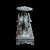 Terracotta strijder paard en wagen....