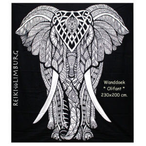 Wanddoek Olifant 230x200cm