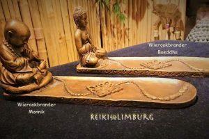 Wierookhouder Boeddha-Monnik