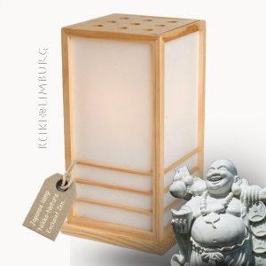 Japanse lamp Nikko-natur 40 cm..