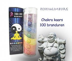 chakra-kaars incl. edelsteentjes