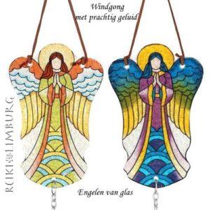 Engelen van glas Windchime