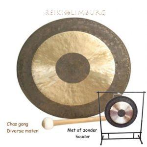 Chao gong met houder