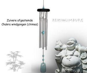 Chakra windgongen afgestemd