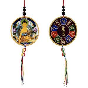 Shakyamuni Boeddha Deur, raam, auto