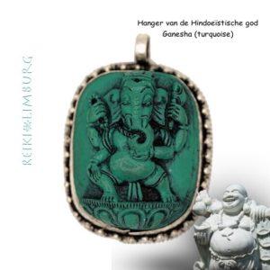 Ganesha hanger turquoise 3.5-4.5