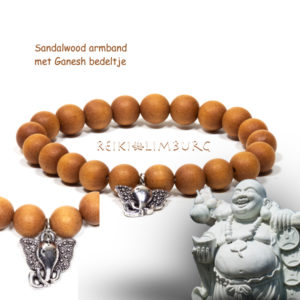 Mala armband Ganesh.
