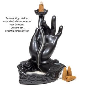 Hand Boeddha waterval Cadeautip