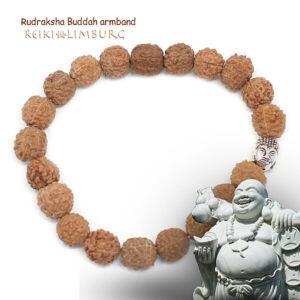 Rudraksha Buddah armband