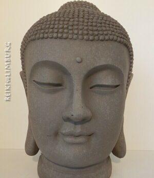 Japanse Boeddha 42 cm. Granietkleur