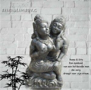 Rama en Sita beeld 56 cm..