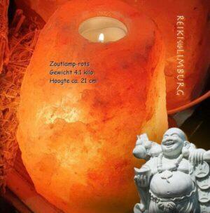 Zoutlamp rots_4.1 kg_21cm