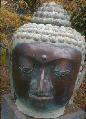 Boeddha brons 63 cm hoog