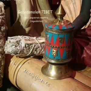 Gebedsmolen Tibet