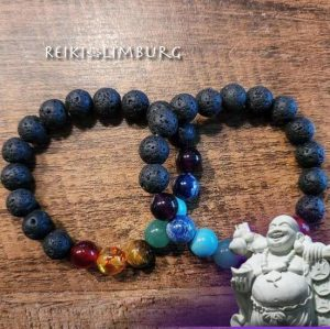 Lava-Chakra armband